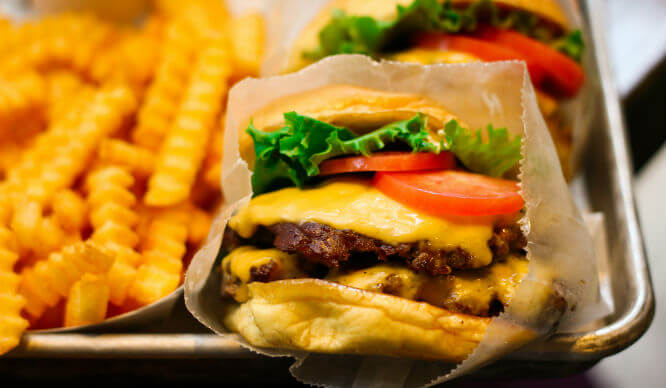 Shake Shack cheap restaurants NYC