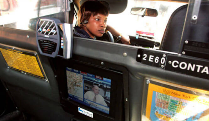 Taxi partitions to go in NYC