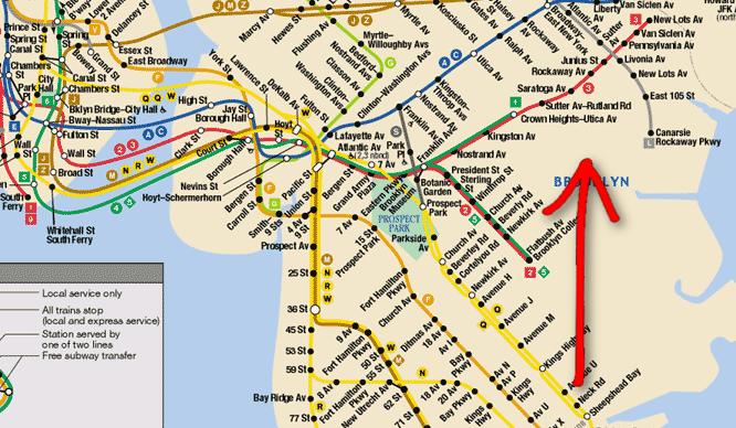 Subway Map Sheepshead Bay.Mta Looks Into Possible New Subway Line Secretnyc