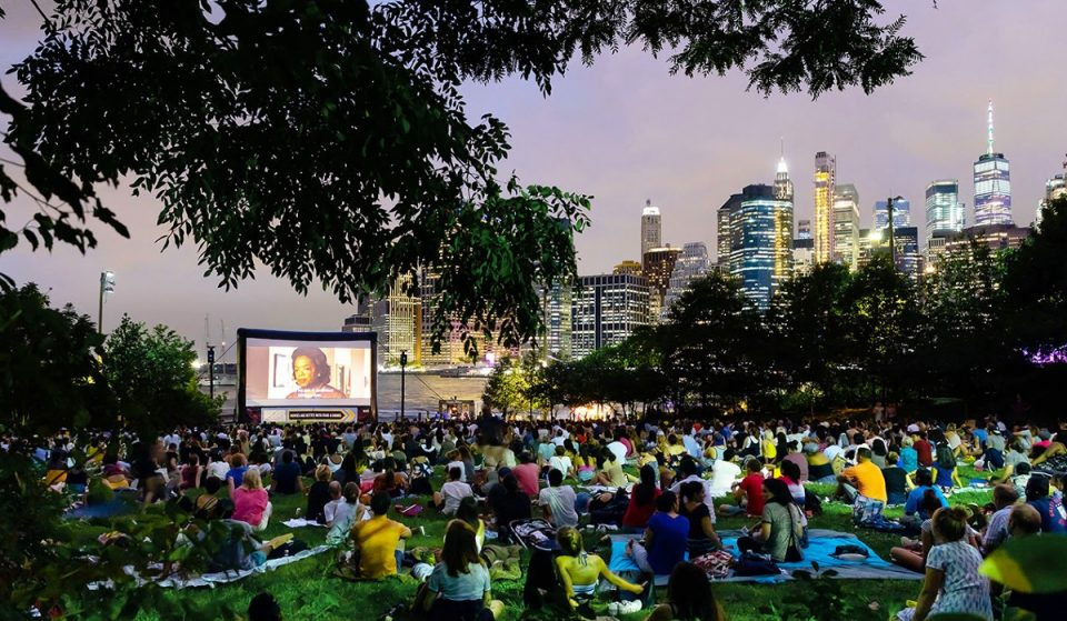 """Here's The Schedule For The Outdoor """"Movies With A View"""" In Brooklyn Bridge Park"""