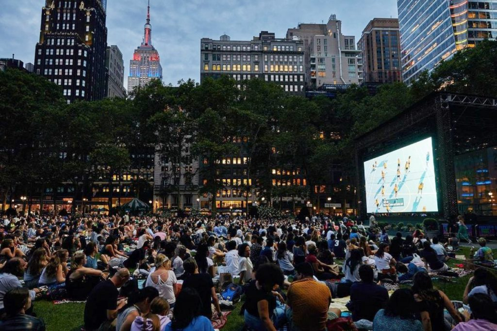 Bryant Park's Iconic Free Movie Nights Will Return This Summer