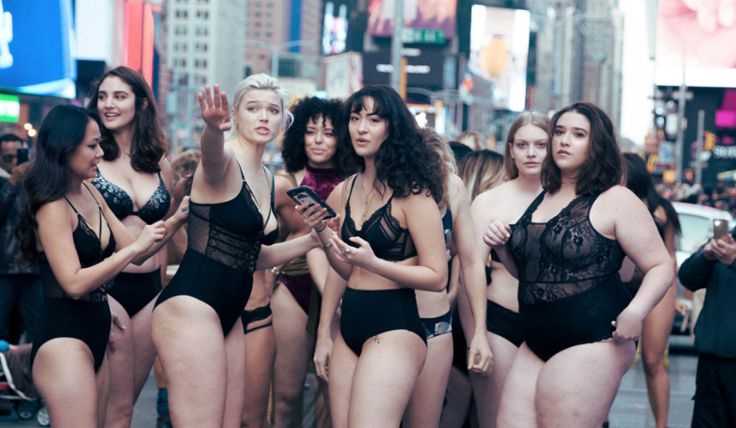 331abab40 Last month an Anti-Victoria's Secret fashion show took place celebrating  women of all body types, showing the world that any woman is deserving of  angel ...