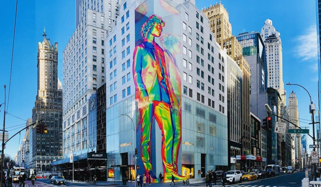 4c8ed4721c22 A Colorful New Mural Is Up Now On The Corner Of This 5th Avenue ...