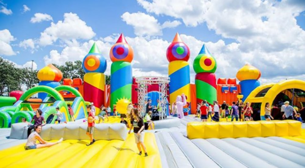 Largest Inflatable Theme Park In The World Is Coming To NYC