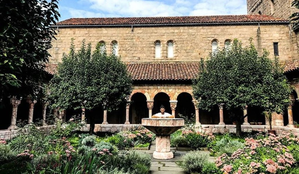 The met cloisters is a hidden garden paradise in the heart of nyc
