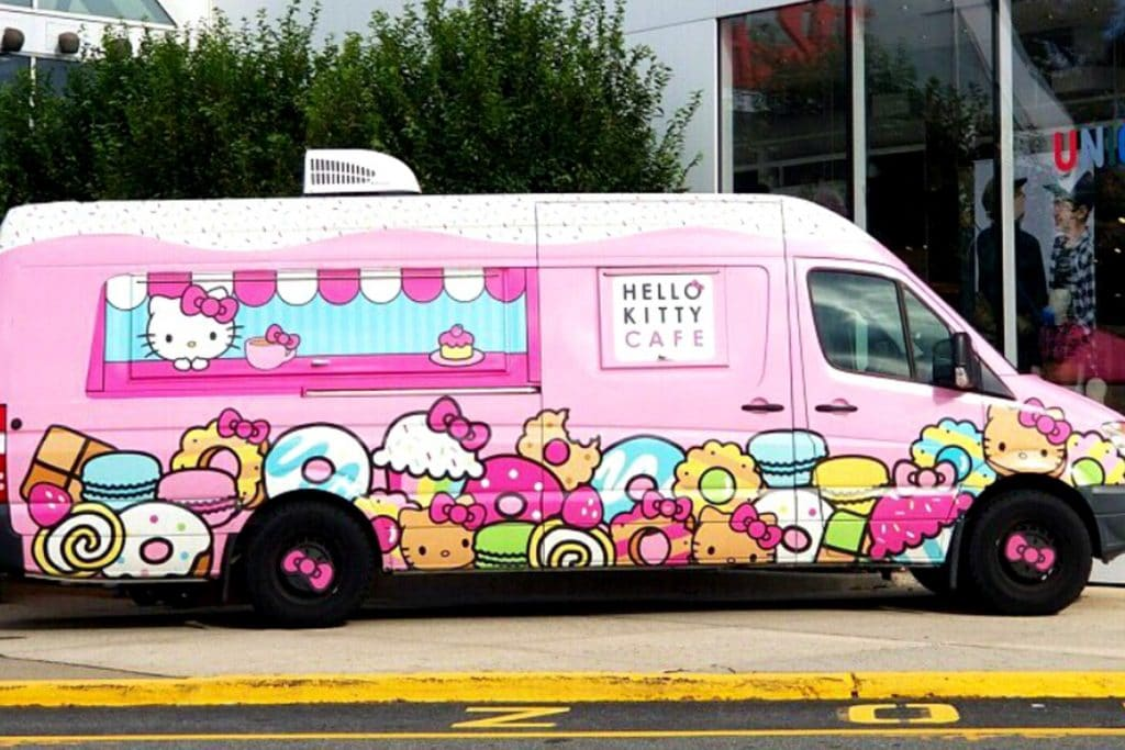 Adorable Hello Kitty Cafe Truck Is Coming Back To NYC