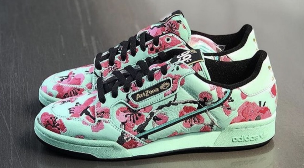 pas cher pour réduction bd8d8 c6227 Adidas And AriZona Iced Tea Collab On New 99-Cent Sneakers ...