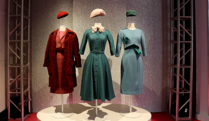 There's A 'Marvelous Mrs  Maisel' Exhibit Open Now In NYC