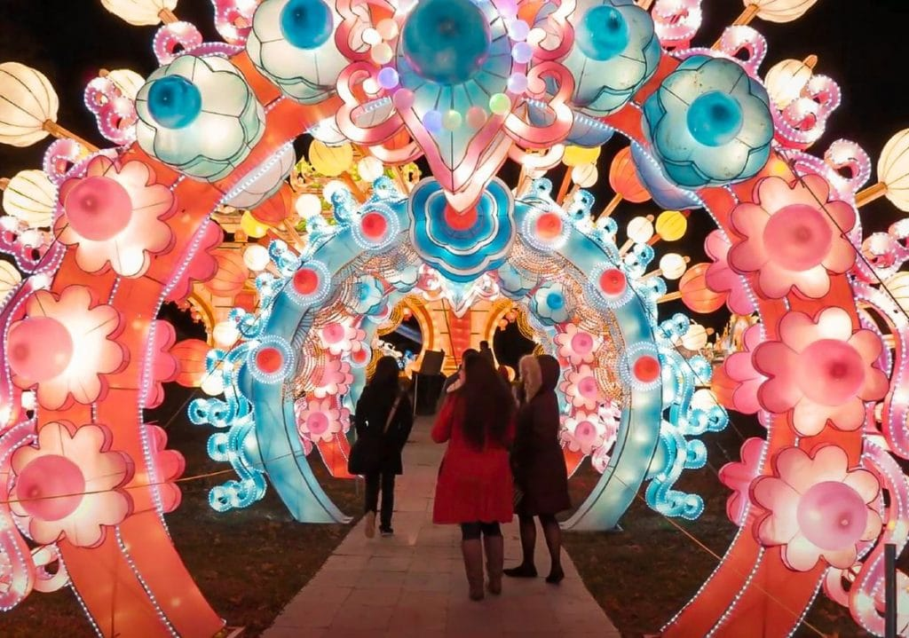 NYC's Magical Winter Lantern Festival Returns With 3 Spectacular Events This Holiday Season