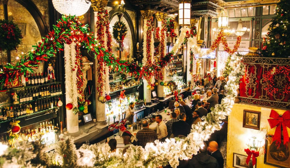 NYC Spots Go ALL-OUT With Holiday Decor