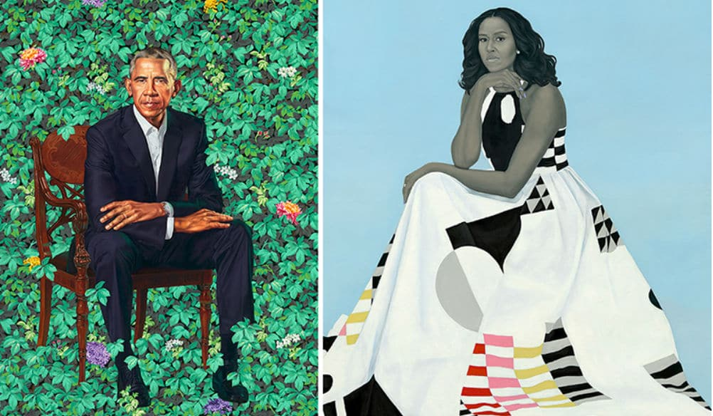 Two portraits of the Obamas will go on a five-city tour