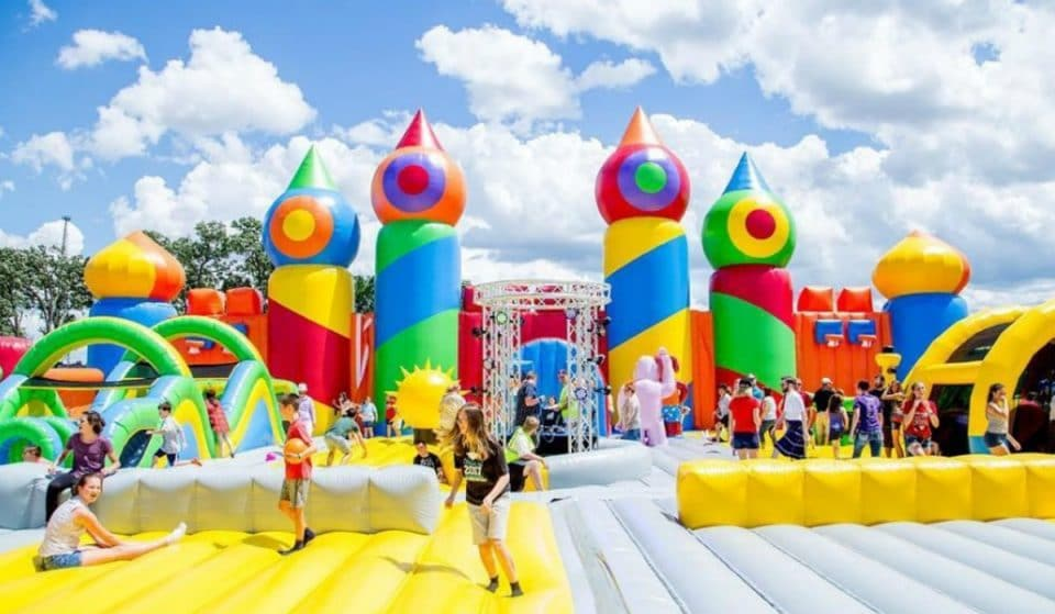 Largest Inflatable Theme Park In The World Returns To NYC This Summer