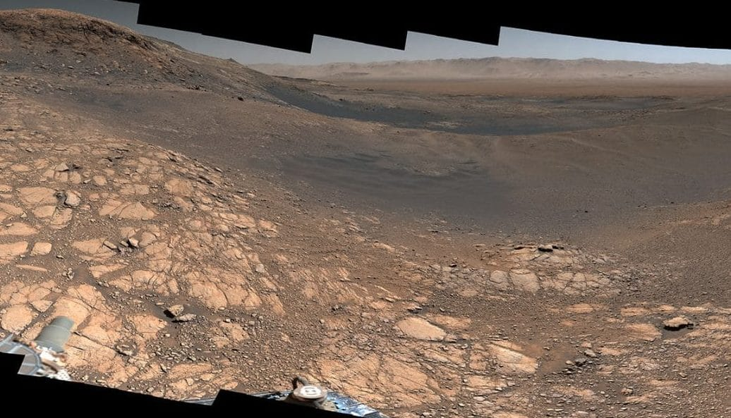 Stunning Martian Selfie Before NASA's Curiosity Mars Rover Completes Record Climb - SciTechDaily