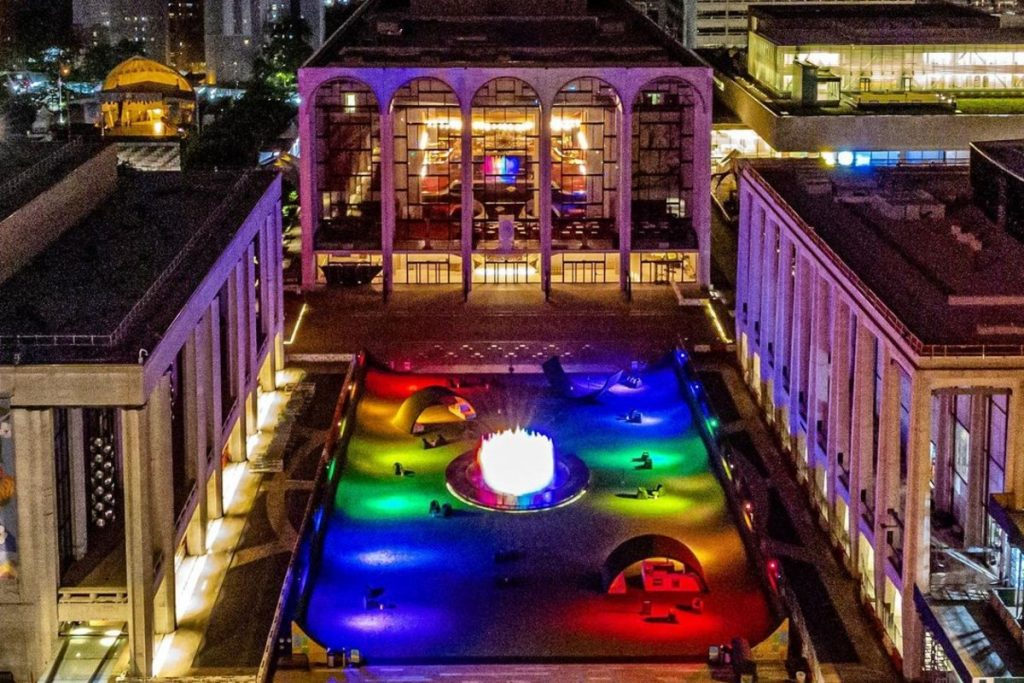 NYC Landmarks Are Lighting Up In Rainbow Colors For 51 Years Of LGBTQ Pride