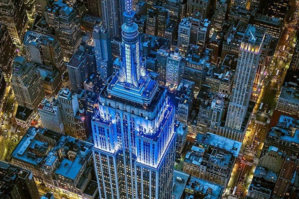 The Empire State Building Will Light Up Blue Tomorrow Night In Memory Of 9/11