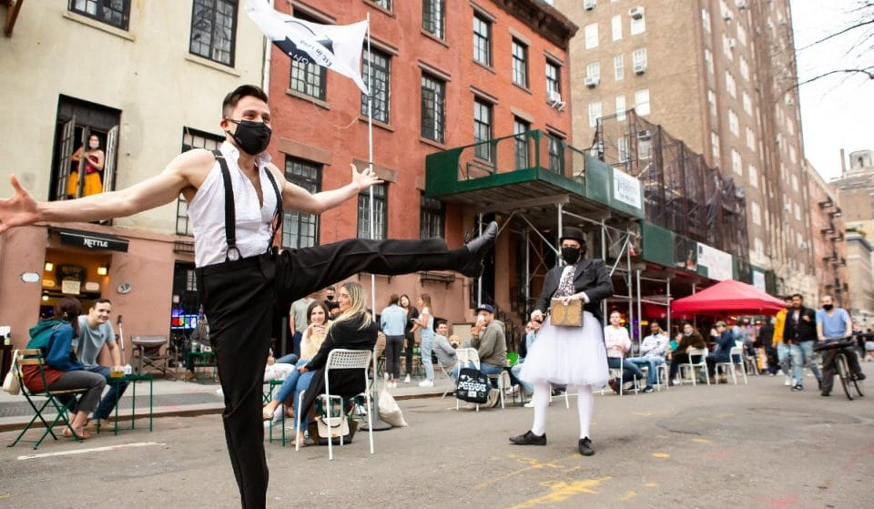 This Moulin Rouge-Era Outdoor Show In The Village Transports You Straight To Paris