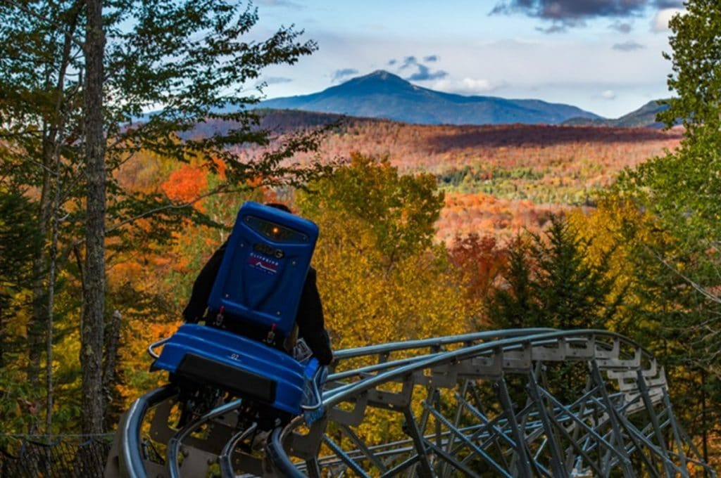 America's Longest Mountain Roller Coaster Is Open For Fall In New York