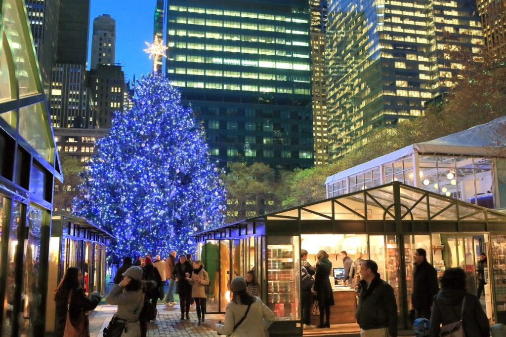 Bryant Park's Magical Winter Village Will Open For The Season This Month