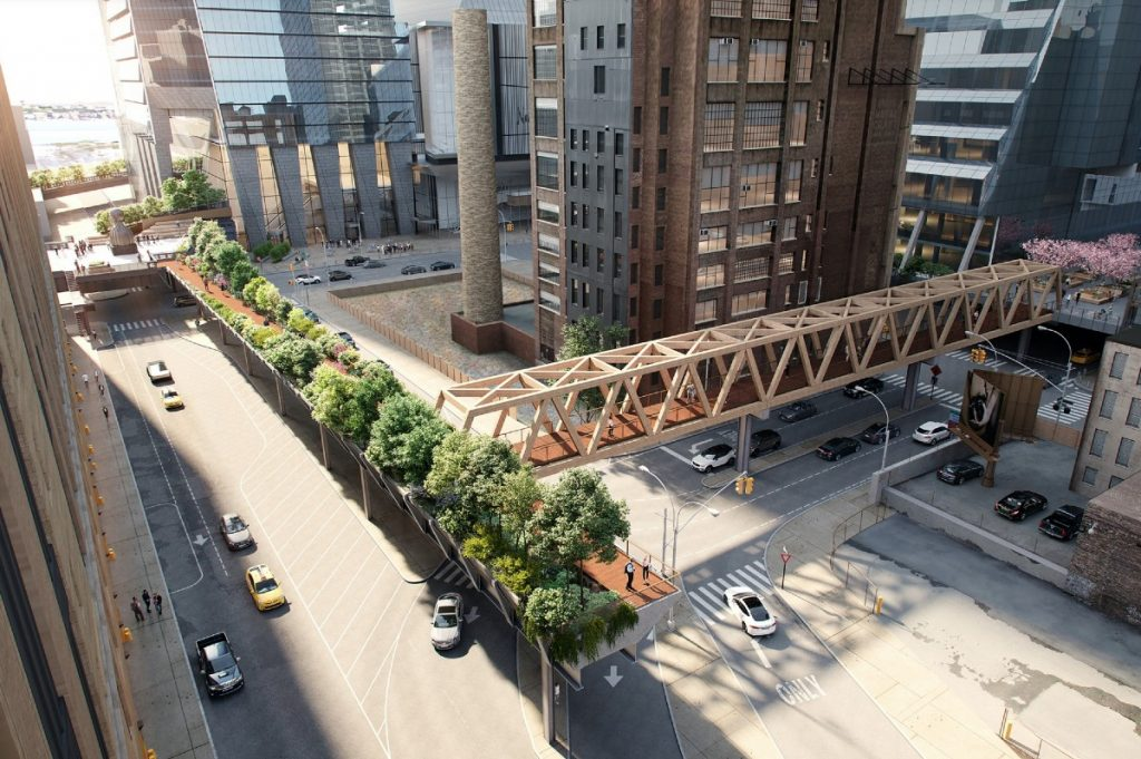 A $50 Million Extension Will Connect The High Line To Penn Station By 2023
