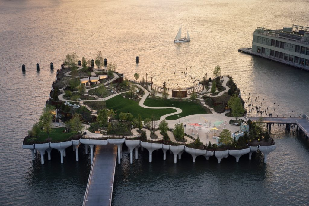 NYC Floating Park 'Little Island' Is Officially Open
