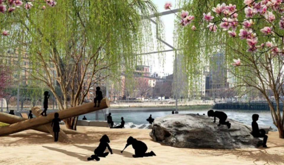 Take A Look At Manhattan's Very First Public Beach Coming In 2023