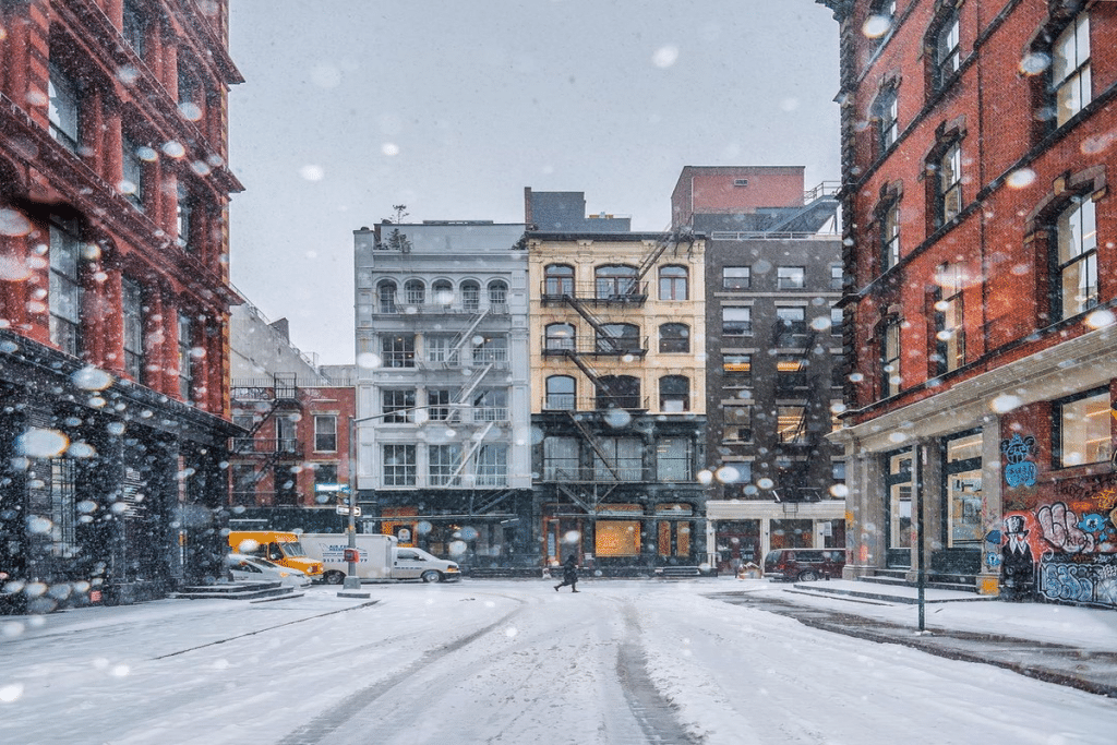 Snow Is Forecasted To Fall This Friday In NYC