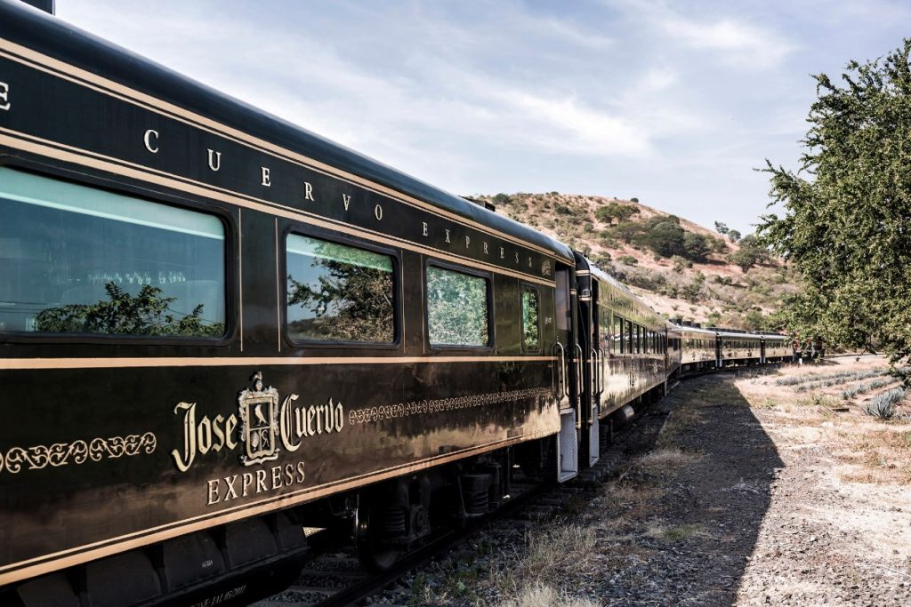 Travel On A Tequila Train Through The Countryside Of Mexico