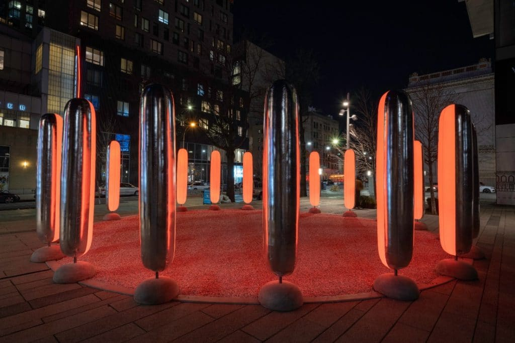 Meditate At This Calming New Art Installation In Downtown Brooklyn