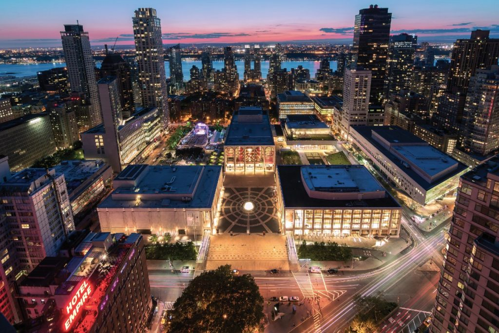 Lincoln Center Is Opening A Massive New Outdoor Performing Arts Center This Spring