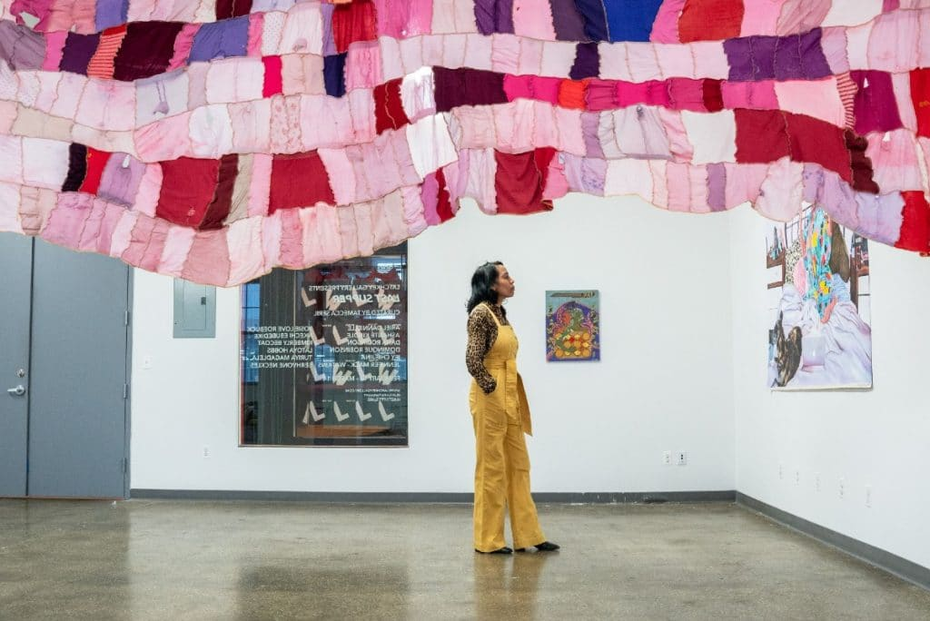 This Innovative Art Exhibit In Industry City Celebrates Black Female Artists