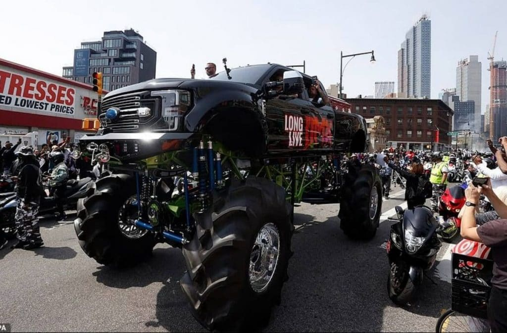DMX Honored With Monster Truck-Led Memorial Procession To Brooklyn This Weekend