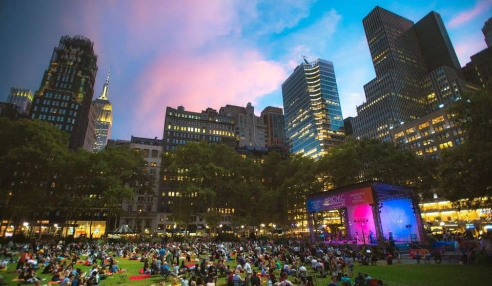 Bryant Park Is Hosting 25 Incredible Free Outdoor Concerts This Summer