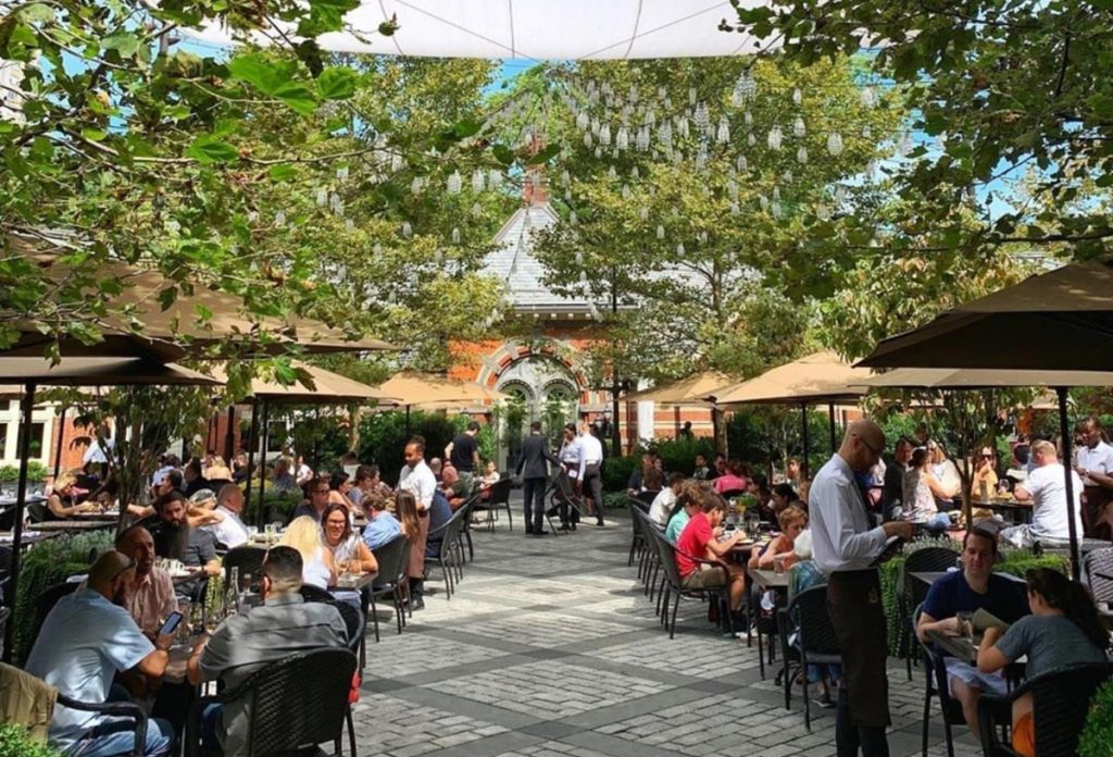 Central Park's Landmark Tavern On The Green Is Reopening Later This Month