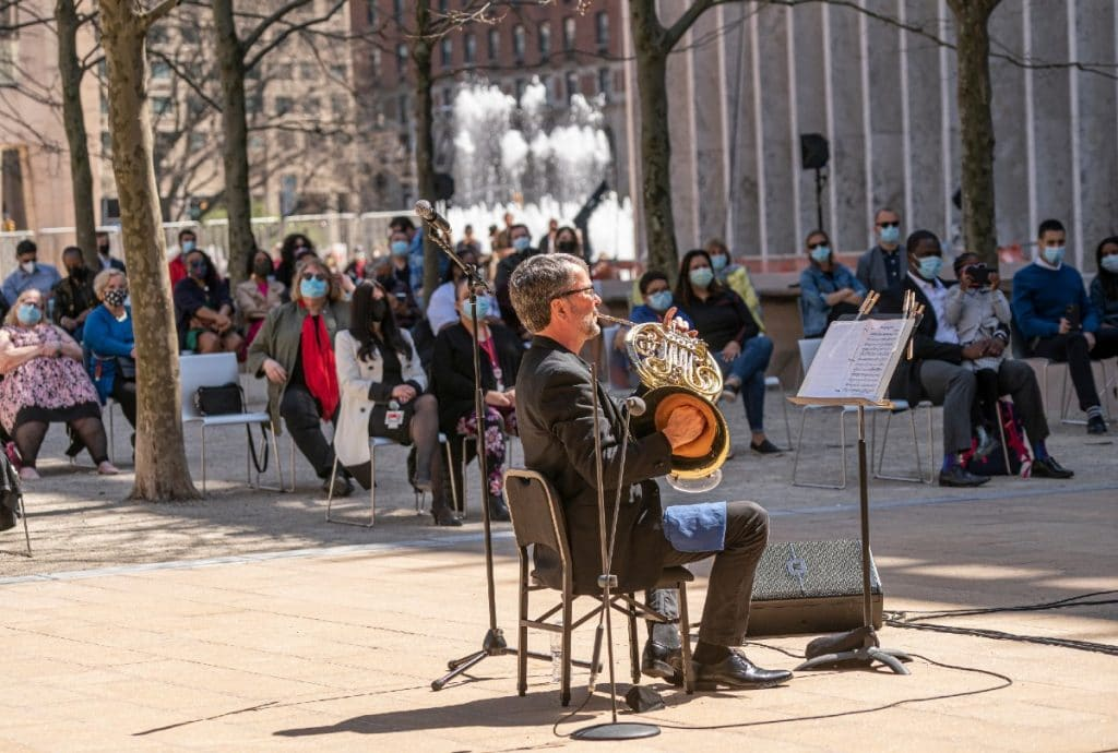Lincoln Center Kicks Off Massive Outdoor Performing Arts Program With Breathtaking Concert