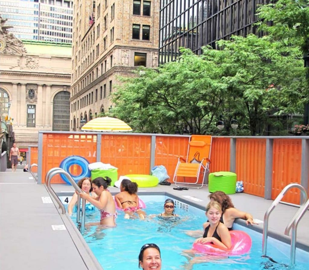 Pop-Up 'Dumpster Pools' Could Be Coming To NYC Streets This Summer