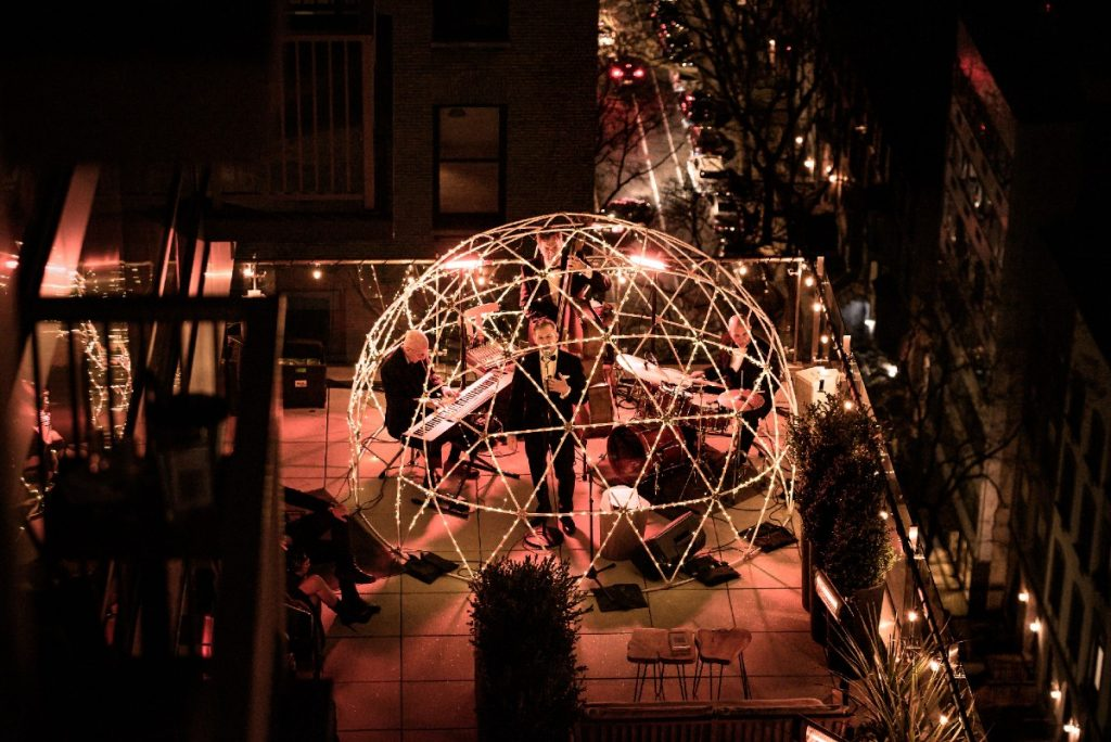 Experience A Magical Night Of Broadway On This Glowing NYC Terrace