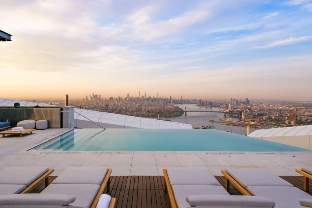 Highest Infinity Pool In Western Hemisphere Is Unveiled In Brooklyn