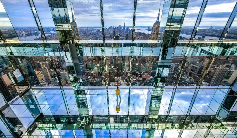 Take A Trip 1,200 Feet Above Manhattan In An All-Glass Elevator At NYC's Newest Observatory Experience, SUMMIT