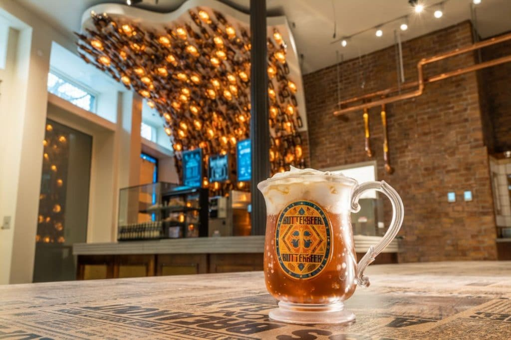 NYC's First & Only 'Butterbeer Bar' Is Now Open At The Harry Potter Flagship Store In Flatiron