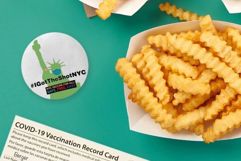 You Can Now Get Free Fries At Shake Shack With Proof Of Vaccine