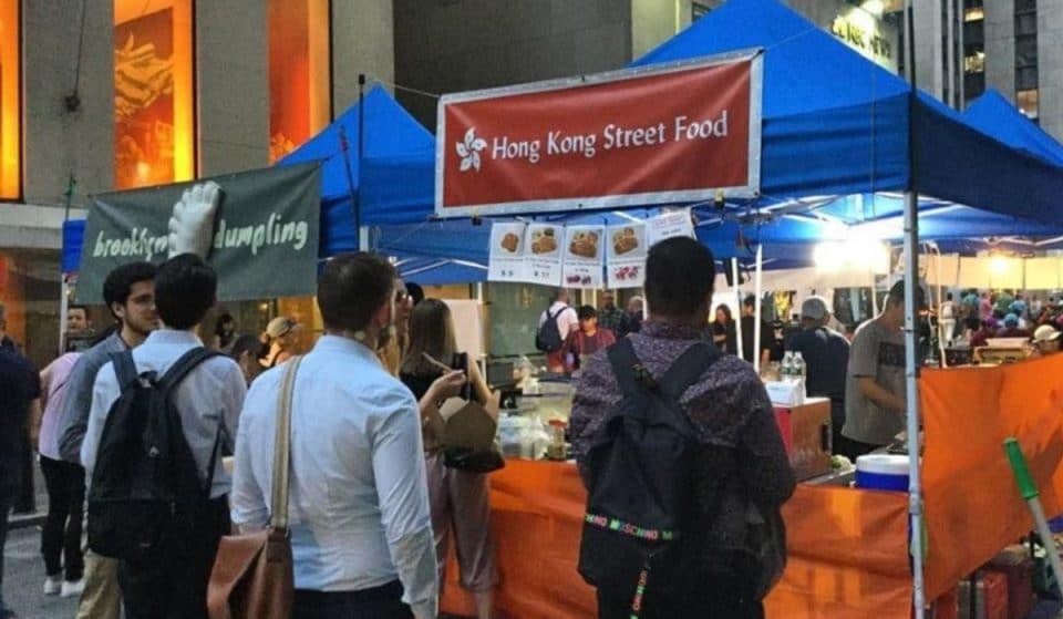 The International Flavors Of Popular Queens Night Market Reopens At Rockefeller Center