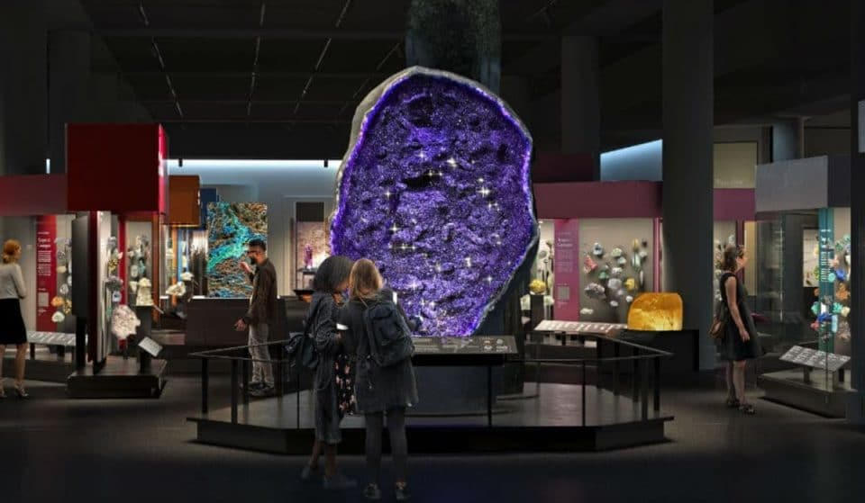 Museum Of Natural History's Brand New Hall Of Gems & Minerals Opens Saturday