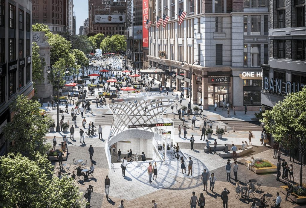 Herald Square Is Getting A $235 Million Makeover Thanks To Macy's