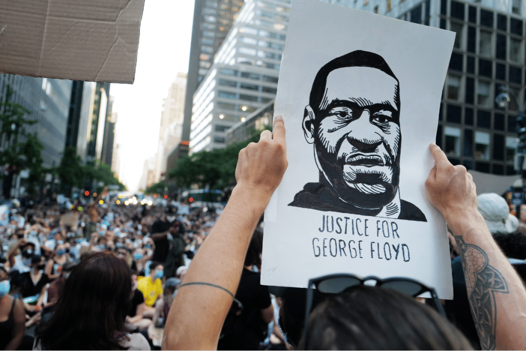 NYC Remembers George Floyd Exactly One Year Since His Death