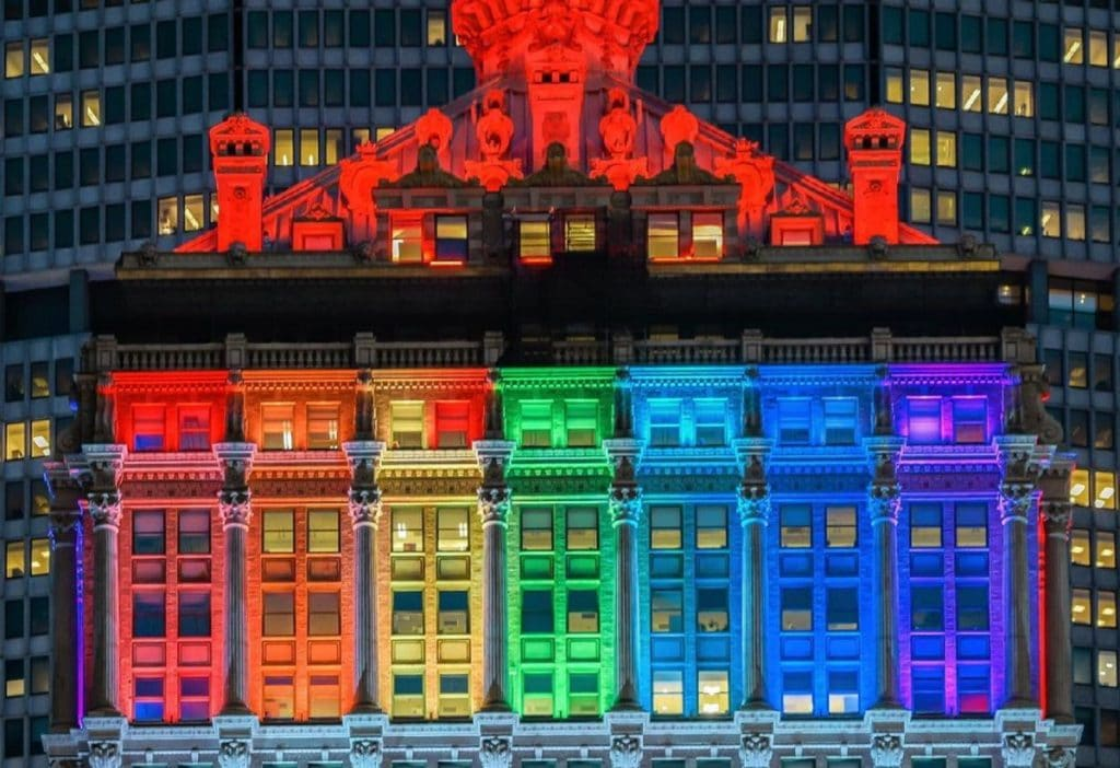 Photos: NYC Turned Into A Gorgeous Glowing Rainbow This Weekend To Celebrate Pride