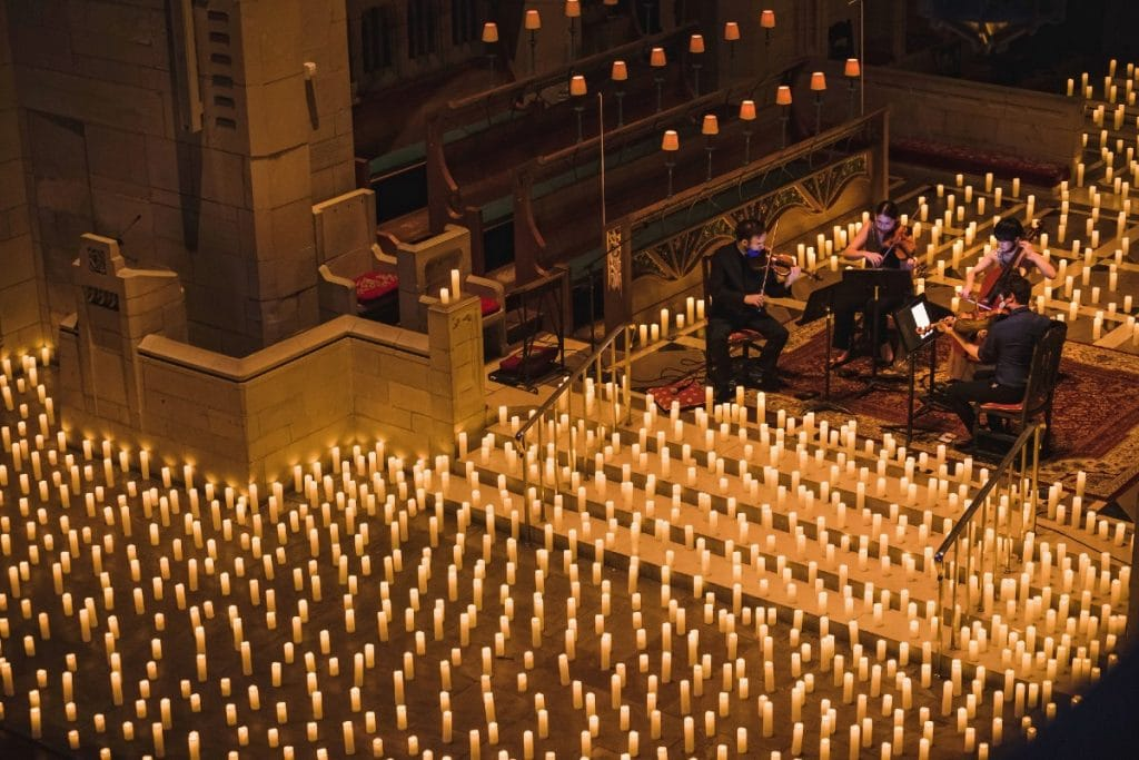 Experience Breathtaking Music By Candlelight In These Beautiful NYC Spaces