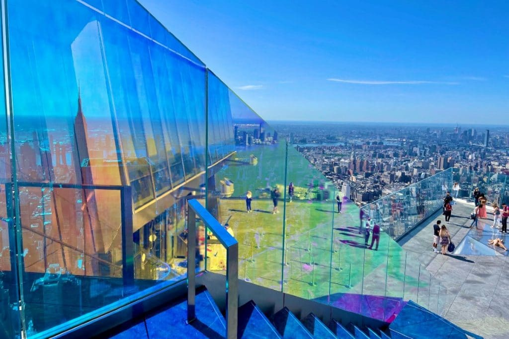 Walk On A Rainbow In The Sky At 'Edge' In NYC To Celebrate Pride