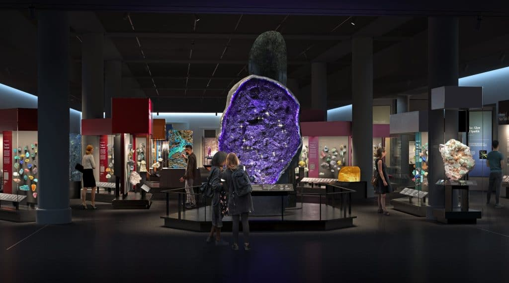 Museum Of Natural History's Dazzling New Hall Of Gems & Minerals Is Now Open
