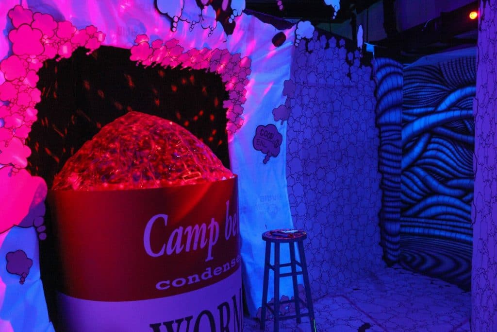 Free Your Mind At This Fluorescent 3D Musical Experience Coming To NYC