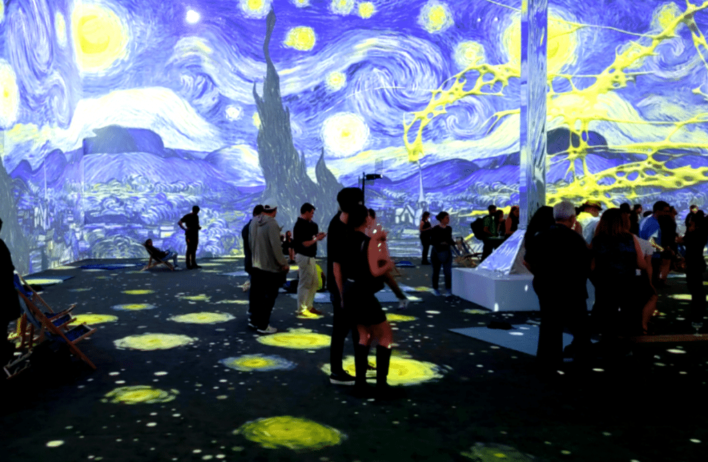 This Is What It's Really Like Inside NYC's Immersive Van Gogh Experience